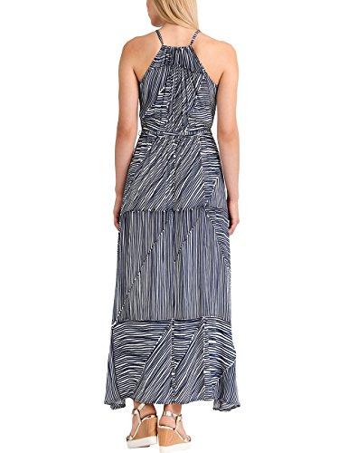 APART Fashion Summer Highlights Blue Stripes, Robe Femme Blau (Blau (Marine-Weiß Marine-Weiß) Marine-Weiß)