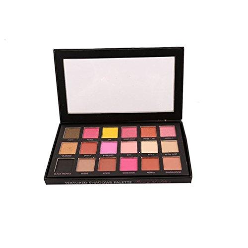 HENGSONG 18 Farben Beauty Rose Gold Augenschminke Matt Makeup Augen Schminke Paletten Kosmetik