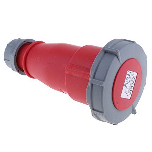 Homyl 1 Stück Wasserdichter IP68 Kabelstecker Geeignet für Verbindung mit der Außenbeleuchtung