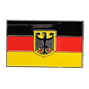 Gudeke Pin Anstecker Flagge Fahne Deutschland Staatsflagge Adler Herren Brosche