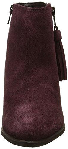 Initiale Damen Icarak Stiefel & Stiefeletten Rot - Rouge (Bordeaux)