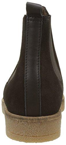 IKKS Damen Saddled Creeper Kurzschaft Stiefel Noir (Noir)