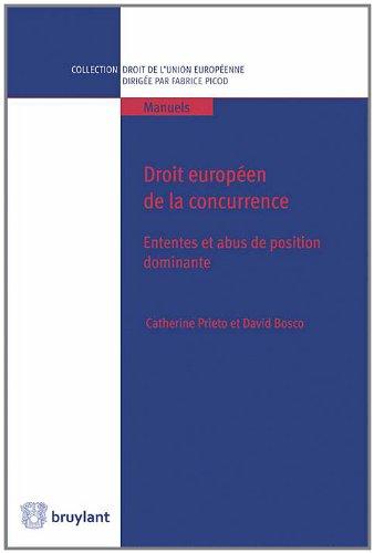 Droit européen de la concurrence : Ententes et abus de position dominante