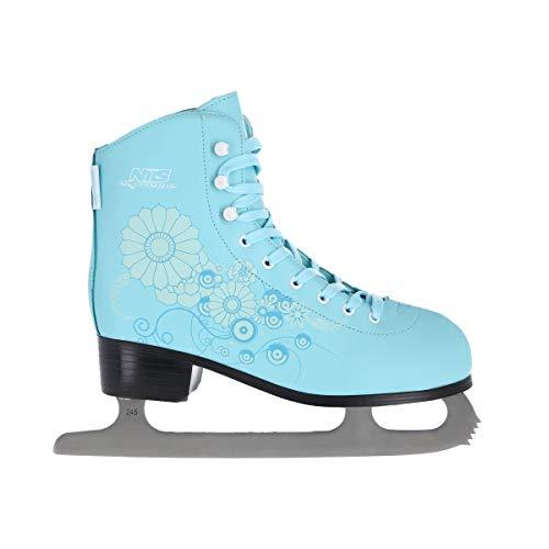 NILS Damen Eiskunstlauf Schlittschuhe Ice Flower - Gr. 36, 37, 38, 39, 40, 41 (39)