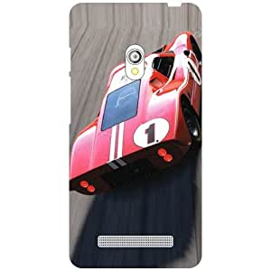 Asus Zenfone 5 A501CG Back Cover - Abstract Designer Cases