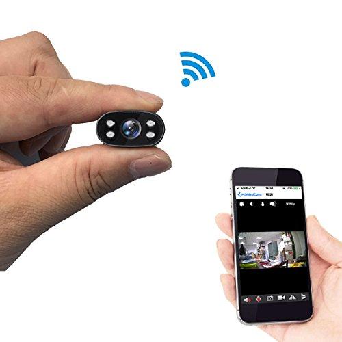 PNZEO-W1-IP-Cmara-Cmara-Espa-HD-1080P-Mini-Cmara-Oculta-Porttil-InteriorExterior-WiFi-Cmara-IP-de-Seguridad-Soporte-128G-Memoria-Interna-con-Vision-Nocturna-y-Grabacion