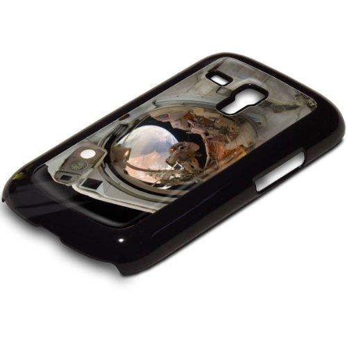 Weltraum 10014, Raumfahrzeug, Design Schwarz Hard Case Hartschale Hülle Tasche für Samsung S3 i8190 Mini.