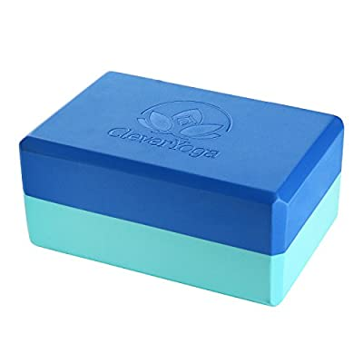 Clever Yoga Block 22,9x 15,2x 10,2cm, langlebig Umweltfreundlich recyceltem Schaumstoff