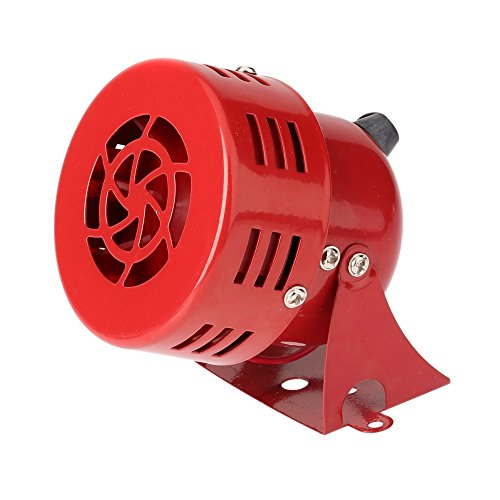 KKMOON 12V 3 Zoll Automotive Luftangriff Sirene Horn Auto LKW Motor angetriebenen Alarm rot