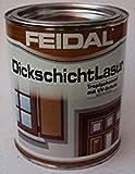 Feidal Dickschichtlasur , Farbton Eiche hell / v. Fachhandel / 750 ml / Speziallasur äußerst wetter- und lichtbeständig,- stark wasserabweisend (mit Abperleffekt)