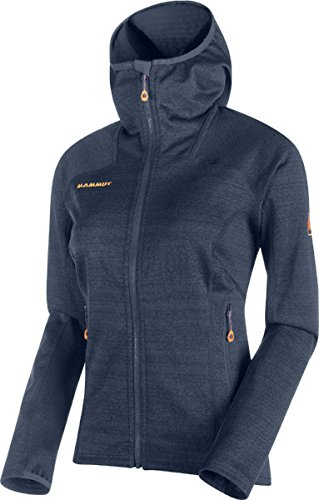 Mammut Eiger Extreme Eiswand Guide ML Hooded Jacket Women - Fleecejacke aus Polartec Thermal Pro Polartec Thermal