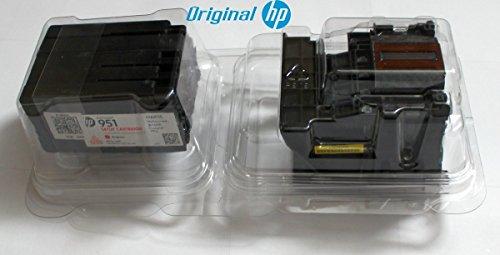Plus Druckkopf (Original HP Druckkopf inkl.4 Patronen HP 950 / HP 951 mit Herstellergarantie für HP OfficeJet Pro 8100 (N811a), 8600 (N911a / N911g))