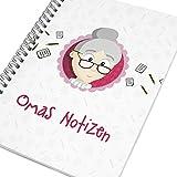 Oma werden Geschenk * Notizbuch Oma * Geschenk werdende Oma + GRATIS Glückwunschkarte