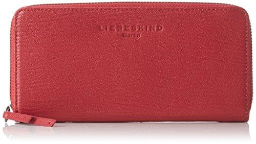 Liebeskind Berlin Damen Sallyr Lgrain Geldbörsen, Rot (Cherry Blossom Red 3532), 20x11x3 cm