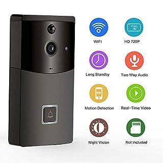 Oshide Wifi Smart Video Türklingel B10 Handy APP Fernbedienung Video Intercom Ohne Batterie Ohne Tf-karte