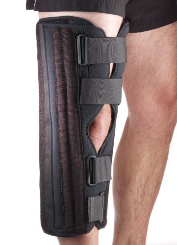 Corflex KNEE IMMOBILIZER TRI-PANEL TRICOT 17 - Fits up to 26 circumference -