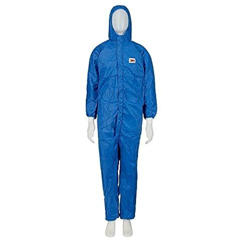 3M Protective Suit 4532 B2X - Size XXL, Blue