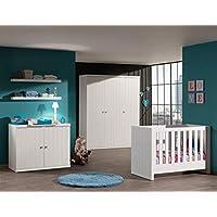 Vipack Bunk robu1614Robin Office 150x 70x 75.5cm MDF High Gloss White