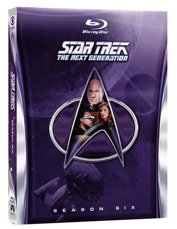 star trek - the next generation - season 06 (6 blu-ray) box set blu_ray Italian Import