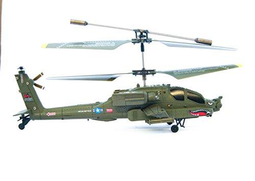 efaso RC Helikopter S109G 3 Kanal Mini Helikopter - AH-64 Apache von Syma
