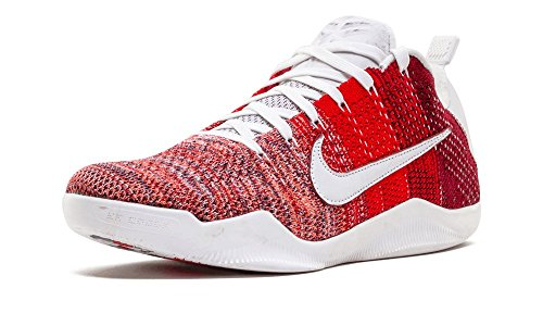 Nike Kobe Xi Elite Low 4kb, Scarpe da Basket Uomo Rosso