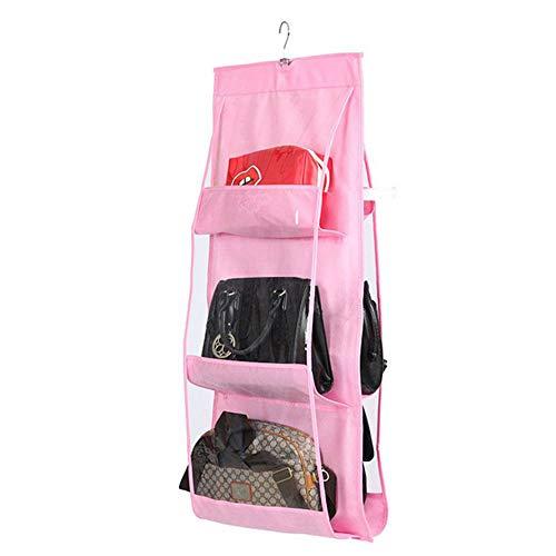 Kimballkq Staubdichte, doppelseitige, sechslagige, multifunktionale Aufbewahrungstasche für Handtaschen -