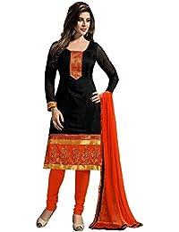 Param Creation Women's Blue Cotton Salwar Suit PC1108…
