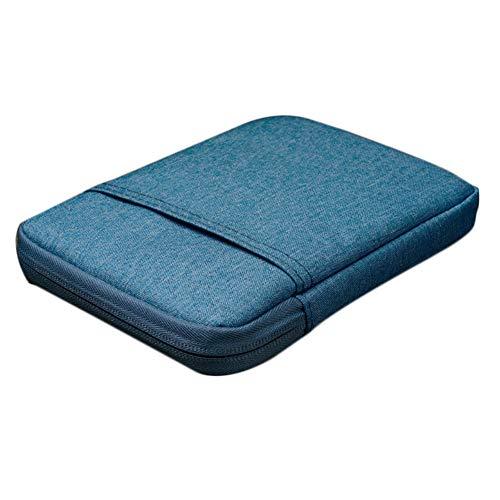 ckung Hülle eBook Reader Tragbare Leinwand Schutzhülle mit Reißverschluss 1 Stück (Blau) ()