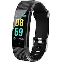 SAINI Bluetooth Fitness Band ID-115 Tracker with Heart Rate Sensor Activity Tracker