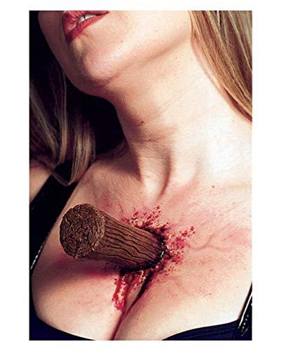 ck Latexapplikation Spezial Make-up Effekt für Halloween ()