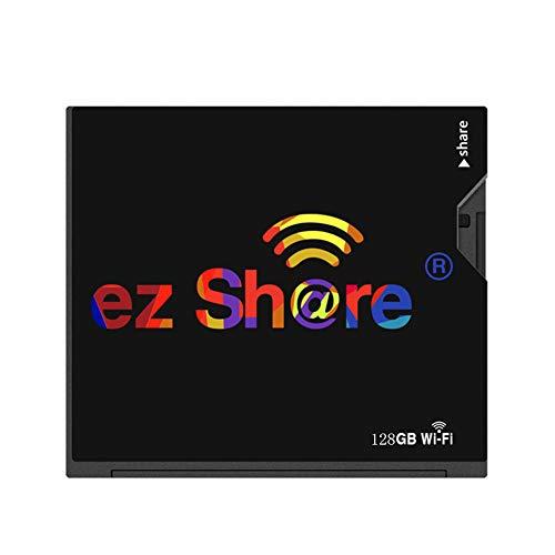 IOIOA WiFi CF-Karte, (32 GB, 64 GB, 128 GB, 256 GB) Speicherkarte Kamera Foto WiFi Wireless Transfer-Speicherkarte - Schwarz,128gb