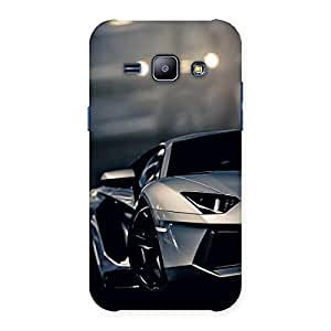 Royal Car Multicolor Back Case Cover for Galaxy J1