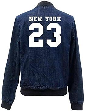 New York 23 Bomber Chaqueta Girls Jeans Certified Freak
