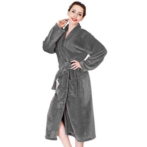Pour Tissu Bxt Chaud Peignoir Robe Eponge Luxe De Chambre Bain Tqzw1