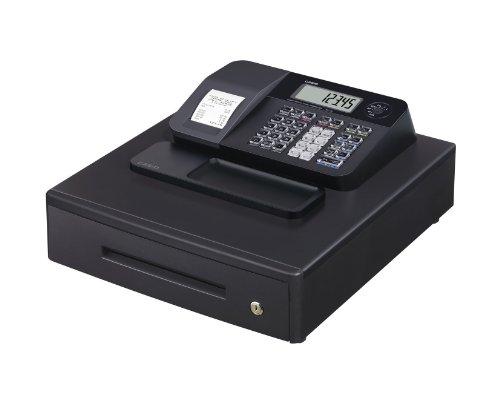 Casio SE-G1MB Registrierkasse mit großer Geldlade, Thermodruck Kundenanzeige, schwarz