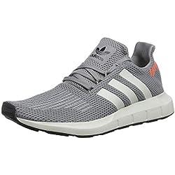 adidas Swift Run, Zapatillas para Hombre, Gris Core Black/Grey 0, 42 EU
