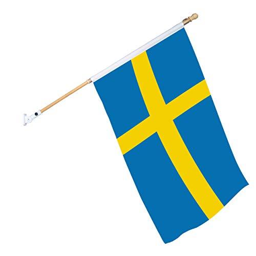 Roll Over Stab und Wandhalterung DOMMER Nationenflagge inkl