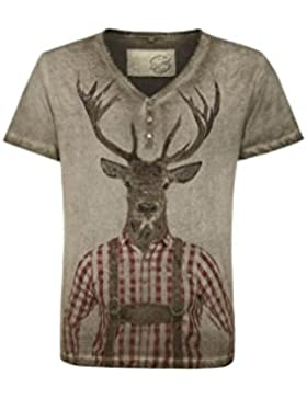 Michaelax-Fashion-Trade Stockerpoint - Herren Trachten T-Shirt, More