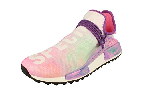 adidas Pharrell Williams HU Holi NMD MC Herren Sneakers (UK 11 US 11.5 EU 46, pink Glow AC7362)