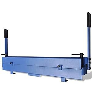 Vidaxl piegatrice lamiera manuale 930mm in ghisa piegatubi for Piega lamiera fai da te