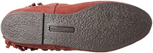 Boots Braun Langschaft Damen Brandy Fringe Mokassin Boot 3 Layer Minnetonka 8P0Sq7S