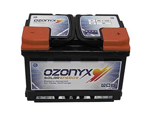 Desconocido Batteria solare 85AH 12v Ozonyx battery Solare 85AH batterie) sigillata 12v