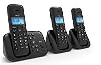 BT BT3960 TRIO Cordless Phone with Answering Machine ( DECT,Hands Free Functionality )