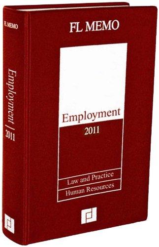 Employment Memo 2011 por FL Memo Ltd