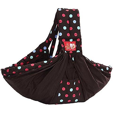 Neonato respirabile comodo Sling Facile spalla portante conveniente Tenere bambino Wrap cotone lato orizzontale cinghia anteriore - L'allattamento Al Seno Di Sostegno Kit