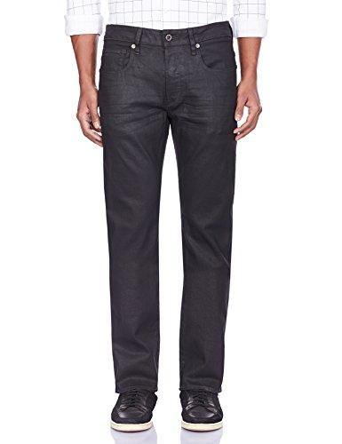 G-STAR Herren 3301 Straight Jeans Schwarz (3d dark aged 2967)