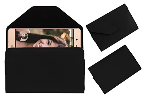 Acm Premium Flip Flap Pouch Case for Micromax Vdeo1 Mobile Leather Cover Black  available at amazon for Rs.179