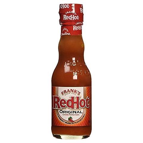 Frank's Redhot Original Cayenne Pepper Sauce 148ml (Pack of 3)