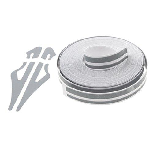 Auto Streifen grau selbstklebend Striping Tape Folie Aufkleber L9800mm x 12 de (Auto-striping-tape)