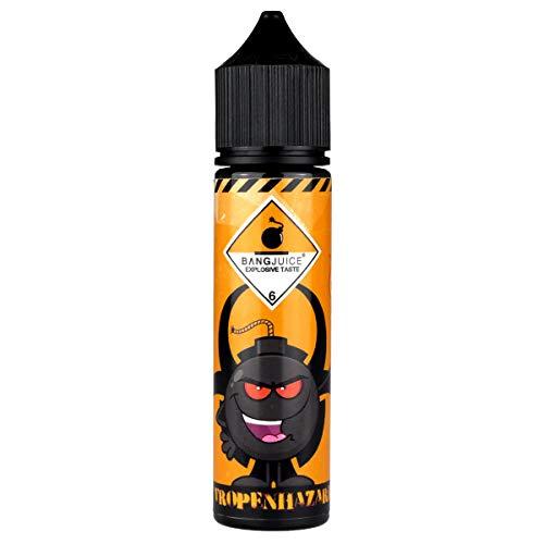 Bang Juice Aromakonzentrat Tropenhazard, Shake-and-Vape zum Mischen mit Basisliquid für e-Liquid, 0.0 mg Nikotin, 15 ml Serie Sub-box